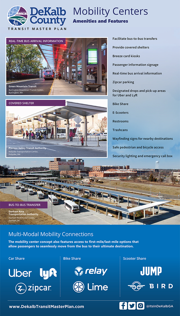 DeKalb Mobility Centers Amenities and Features